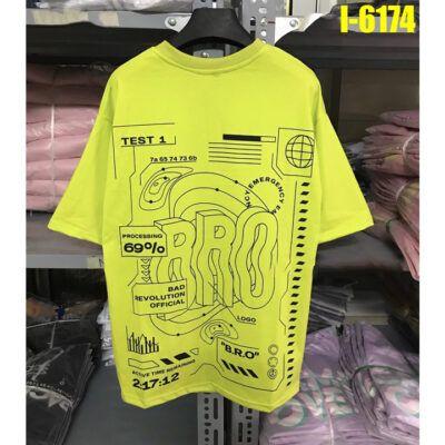 I6174 Ao Thun Nu Unisex In Chu BRO 1