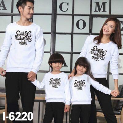I6220 Ao Thun Gia Dinh Tay Dai Bo In Di That Xa De Them Duoc Ve Nha