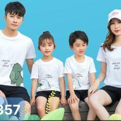 I6357 Ao Thun Gia Dinh In Khung Long 2021