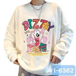 I6362 Ao Thun Sweater Nu In Hoat Hinh DIZZY 2021
