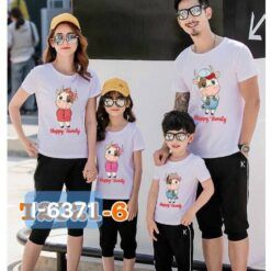 I6371 Ao Thun Gia Dinh In Tet Tan Suu 2021 Happy Family
