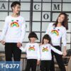 I6377 Ao Thun Sweater Gia Dinh In Cau Vong Family