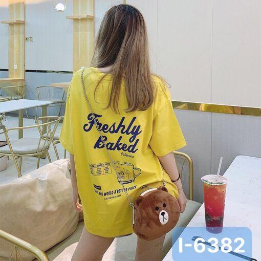 I6382 Ao Thun Nu Unisex In Freshly Baked