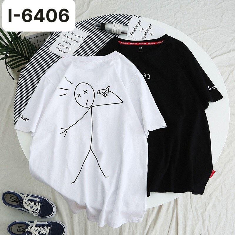 I6406 Ao Thun Mau Trang In 72 Dont Hate