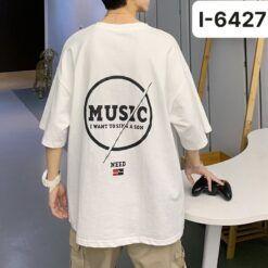 I6427 Ao Thun Nam In Chu MUSIC