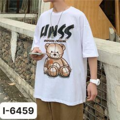 I6459 Ao Thun Unisex In Gau Bup Be Chu UNSS