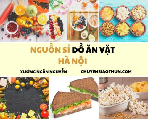 Xuong Ngan NGuyen Nguon si buon do an vat o ha noi 1