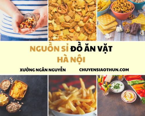 Xuong Ngan NGuyen Nguon si buon do an vat o ha noi 2