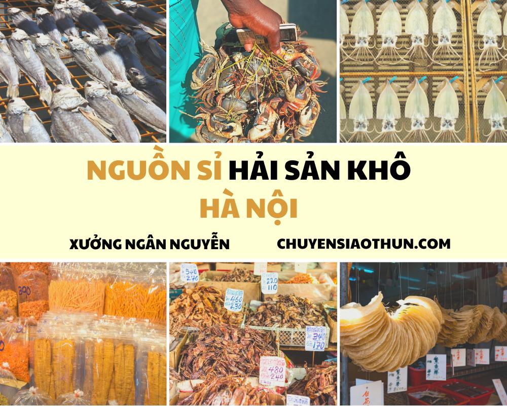 Xuong Ngan Nguyen Nguon si buon hai san o ha noi 1