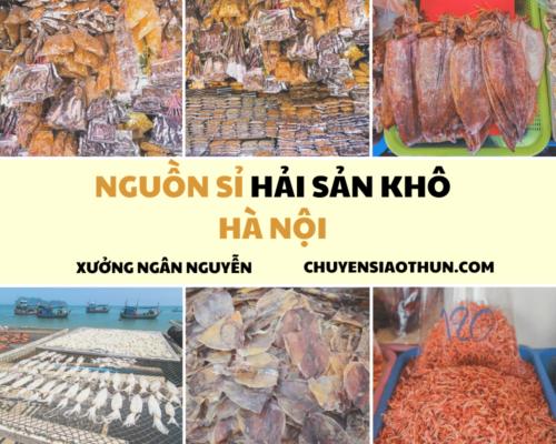 Xuong Ngan Nguyen Nguon si buon hai san o ha noi 13