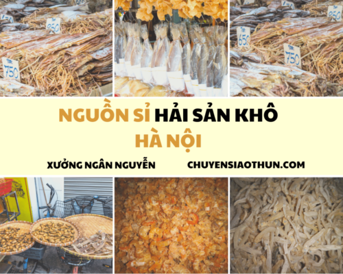 Xuong Ngan Nguyen Nguon si buon hai san o ha noi 14