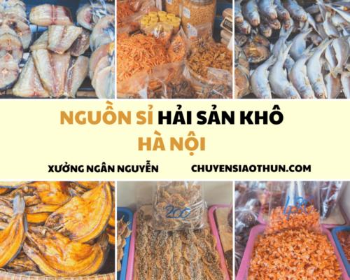 Xuong Ngan Nguyen Nguon si buon hai san o ha noi 15