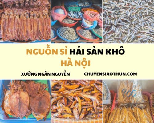 Xuong Ngan Nguyen Nguon si buon hai san o ha noi 17