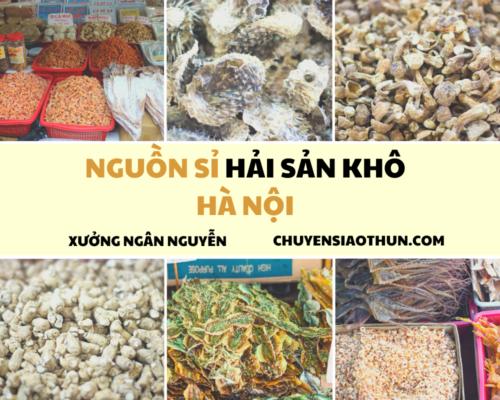 Xuong Ngan Nguyen Nguon si buon hai san o ha noi 2