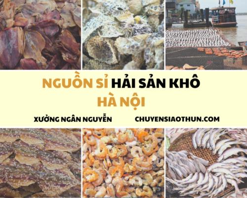 Xuong Ngan Nguyen Nguon si buon hai san o ha noi 3