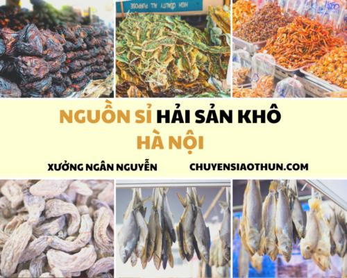 Xuong Ngan Nguyen Nguon si buon hai san o ha noi 4