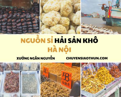 Xuong Ngan Nguyen Nguon si buon hai san o ha noi 5