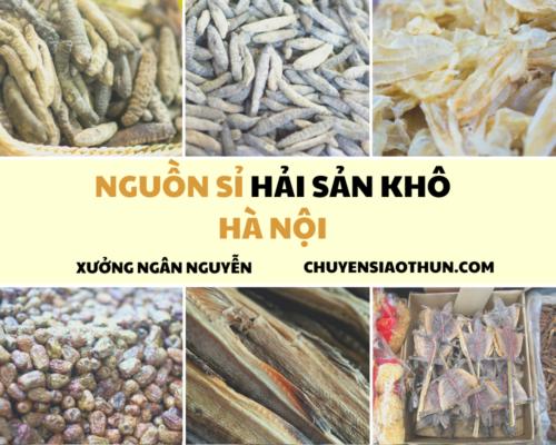 Xuong Ngan Nguyen Nguon si buon hai san o ha noi 6