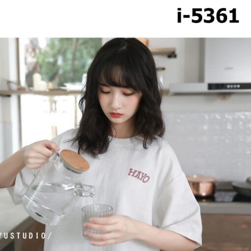 i5361 ao thun nu unisex in logo hayo 8341
