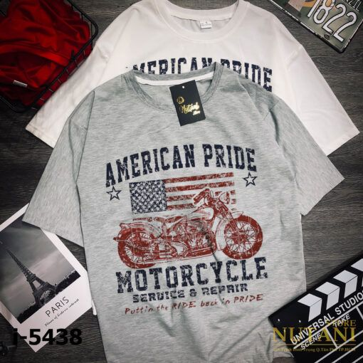 i5438 ao thun nam in american pride 5111