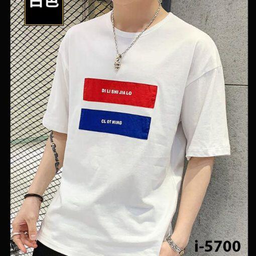 i5700 ao thun nu co tron chu clothing 9201