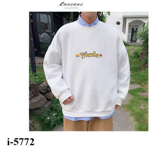 i5772 ao thun vay ca nam tay dai bo chu pikachu 2020 5235
