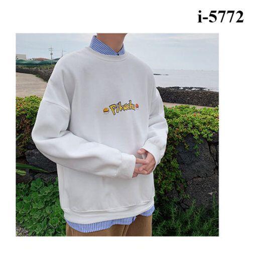 i5772 ao thun vay ca nam tay dai bo chu pikachu 7190
