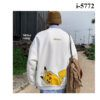 i5772 ao thun vay ca nam tay dai bo in chu pikachu 6087