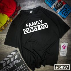 i5897 ao thun mau den family every go 3931
