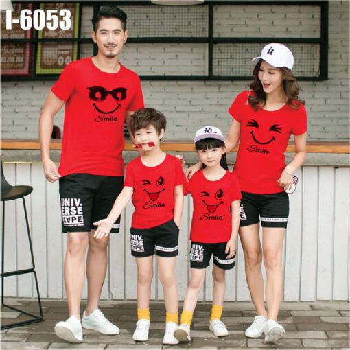i6053 ao thun dong phuc gia dinh in mieng cuoi smile 6210